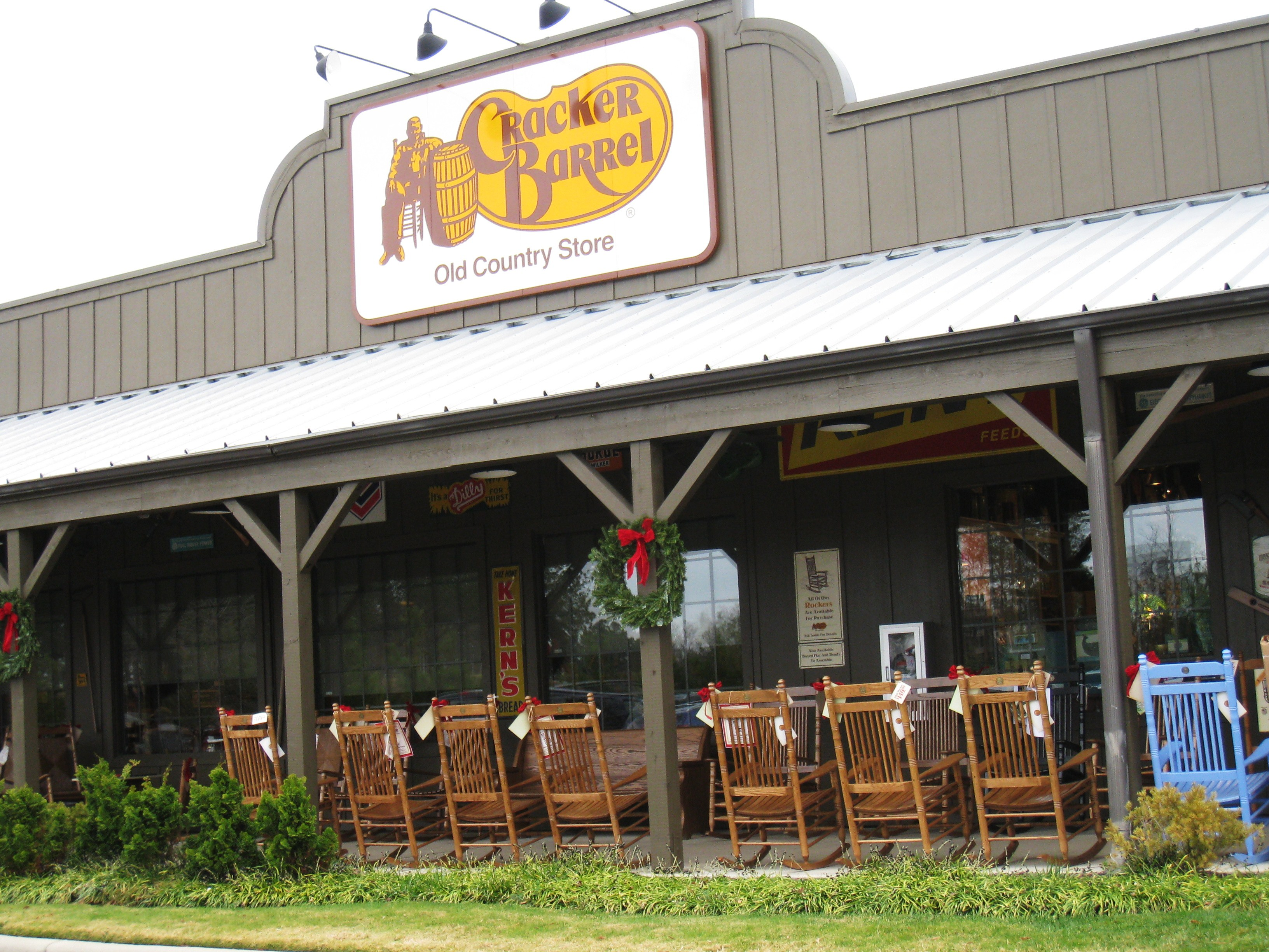 Travel everyday adventures in havachon heaven for How did cracker barrel get its name